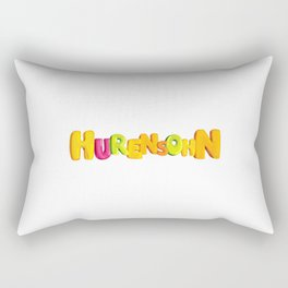 Son Of A Bitch   Insult Provocation Asshole Rectangular Pillow