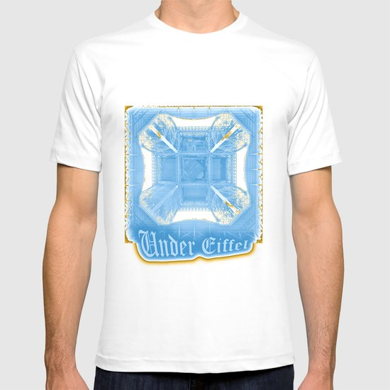 Under Eiffel HDR T-shirt
