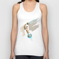 engineer Tank Tops featuring The Engineer by Florey