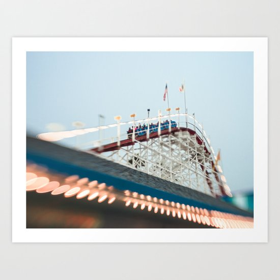 Summer Thrills Art Print