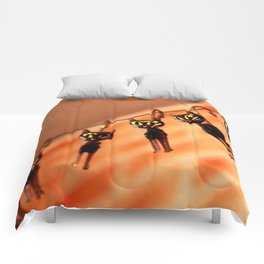 Cocktail cats Comforters