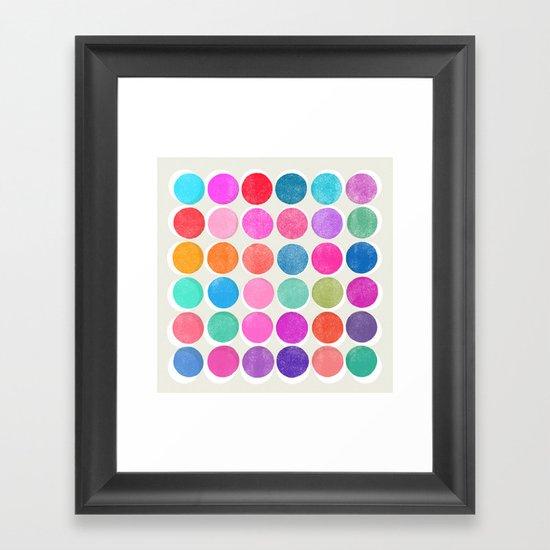 colorplay 7 Framed Art Print
