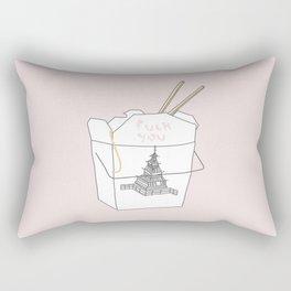 NICE TAKEOUT Rectangular Pillow