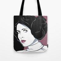 Princess Leia Pop Art Tote Bag
