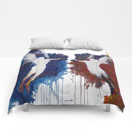 Fly With Me Duo Only Print Edition Comforters