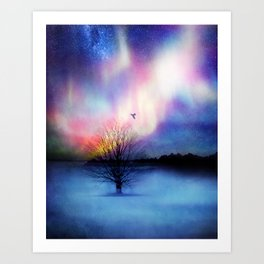 Aurora Boreal Art Print