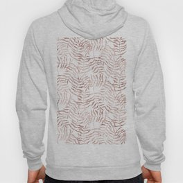 Rose Gold Leaves 2 Hoody