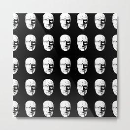 creepy Metal Print