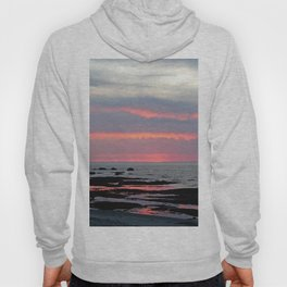 Texture Filled Clouds Hoody