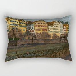 Judith's Walk Rectangular Pillow
