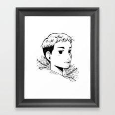 Christophe Framed Art Print