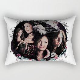 Nina Dobrev  Rectangular Pillow