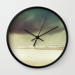 Ocean Solitude Wall Clock