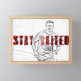 stay united Framed Mini Art Print