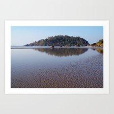 Across the Water to Monkey Island, Palolem Art Print