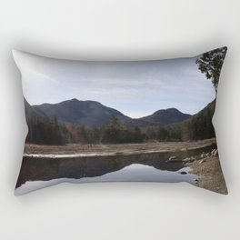 High Peaks Upstate New York Lake Placid Rectangular Pillow