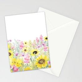 Summer Garden (Sunflower Passion) Stationery Cards