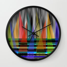 Wind In My Sails Wall Clock