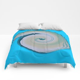 Blue Spira  Comforters