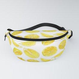 Fresh Lemon Fruit Slices Fanny Pack