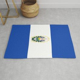 Flag of salvador - salvador,Salvadoran,San Salvador,salvadoreño,Guanaco. Rug