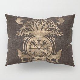 Vegvisir - Viking Compass Ornament Pillow Sham