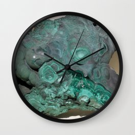 Natural Malachite Wall Clock