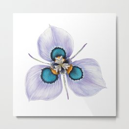 Flower Painting   MORAEA VILLAS   Watercolour   Nature Metal Print