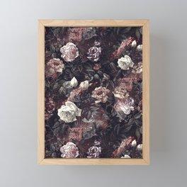 EXOTIC GARDEN - NIGHT III Framed Mini Art Print