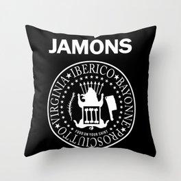 Jamons Throw Pillow