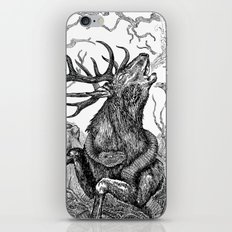 Low roar iPhone & iPod Skin