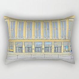 Zentralfughafen Berlin, Central Airport Berlin Rectangular Pillow
