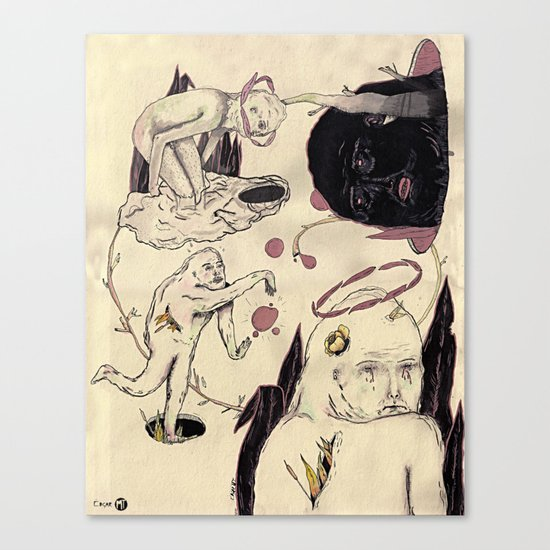 Bajo Perfil Canvas Print
