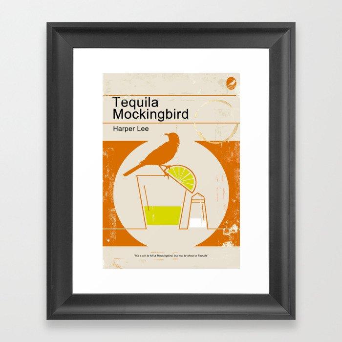 Tequila Mockingbird Gerahmter Kunstdruck