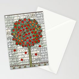 Apple tree Stationery Cards