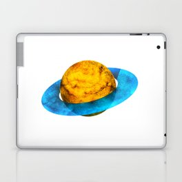 Colorful watercolor hand drawn planet. Laptop & iPad Skin