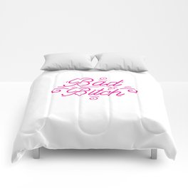 Bad Bitch Shirt Feminism Feminist Bitches Gift Comforters