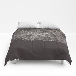 Lausanne - city map Comforters