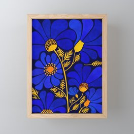 Wildflower Garden Framed Mini Art Print