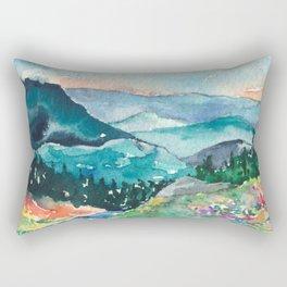 Valley of Dreams Rectangular Pillow