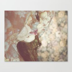 Flower Skin Canvas Print