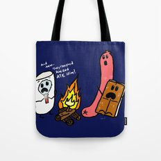 Campfire Tales Tote Bag