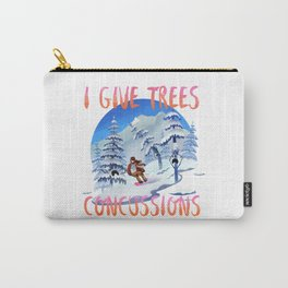 Snowboard Steve - I give trees concussions Carry-All Pouch