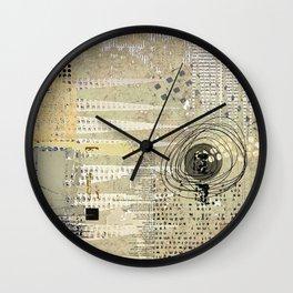 Neutral Tones Wall Clock