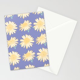 Marguerite Daisy Pattern Stationery Cards