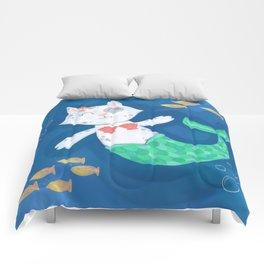 Mermaid Cat Comforters