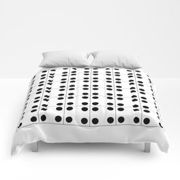 Geometric Pattern 70 (domino) Comforters