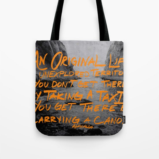 Unexplored Territory Tote Bag
