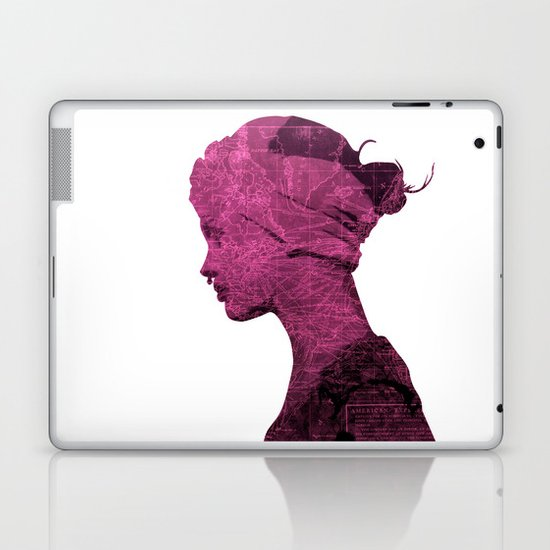 WORLD IS MY TEXTURE Laptop & iPad Skin