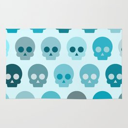 Colorful Skull Cute Pattern II Rug